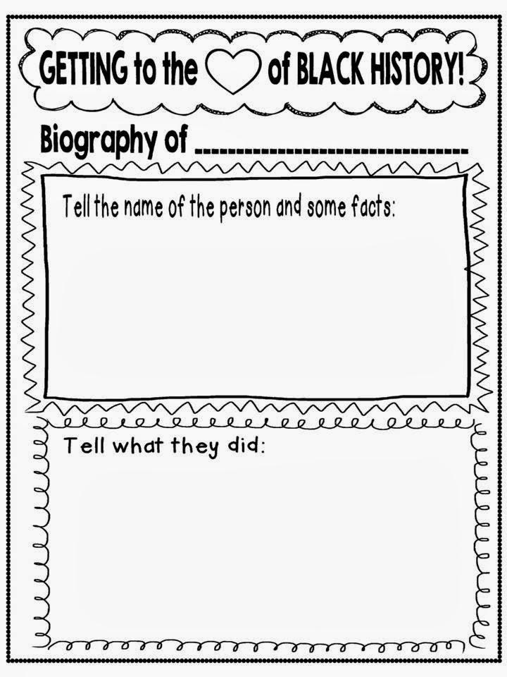 Black History Month Worksheets Kindergarten