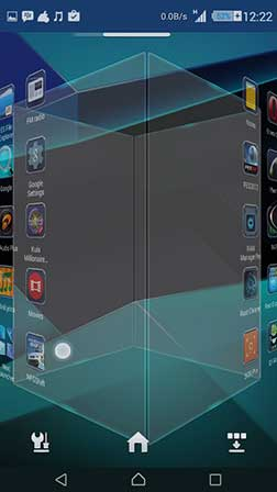 next launcher 3d shell terbaru