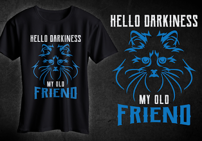 Hello Darkiness My Old Friend T-Shirt