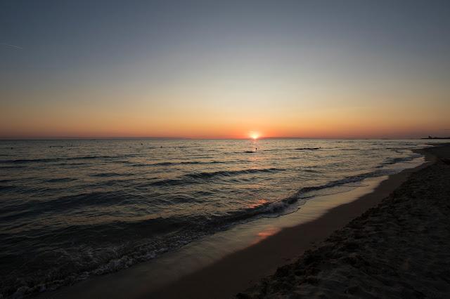 Tramonto sulla spiaggia-Vivosa Apulia resort-Salento