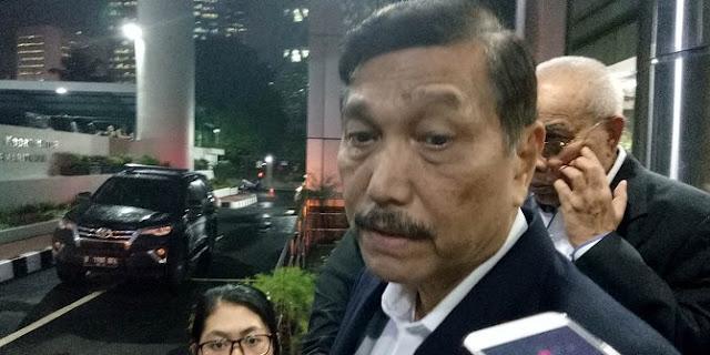 Kata Luhut, #2019GantiPresiden Cuma Gerakan Segelintir Orang