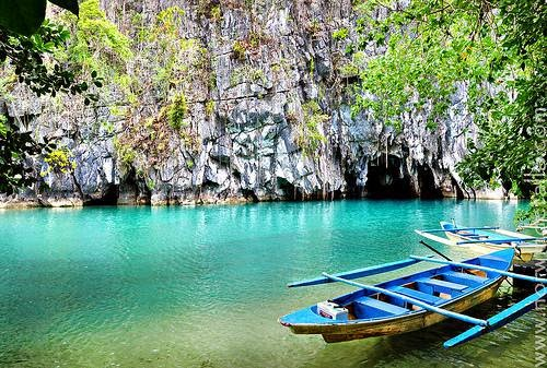 10 Most Famous Travel Destinations In Philippines | Puerto Princesa Underground River ,Philippines