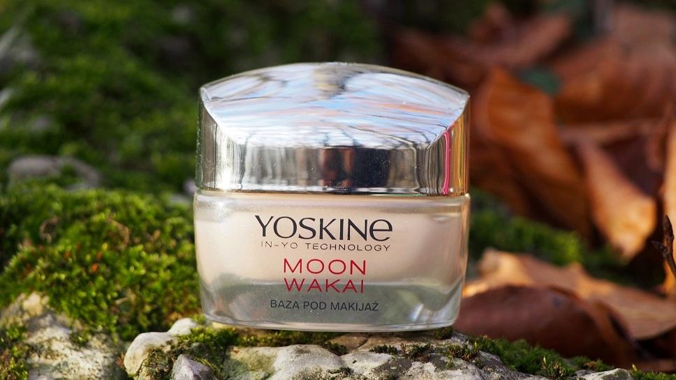 Yoskine matująca baza pod makijaż, Yoskine In-to Technology Moon Wakai matująca baza pod makijaż