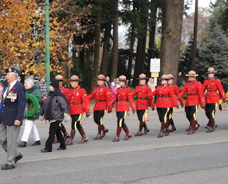 Remembrance Day 2012 Hope BC Canada