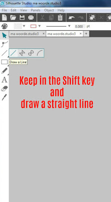 Keep in the Shift key. Tutorial Step 1. Cameo Silhouette. Weeding lines. Vinyl