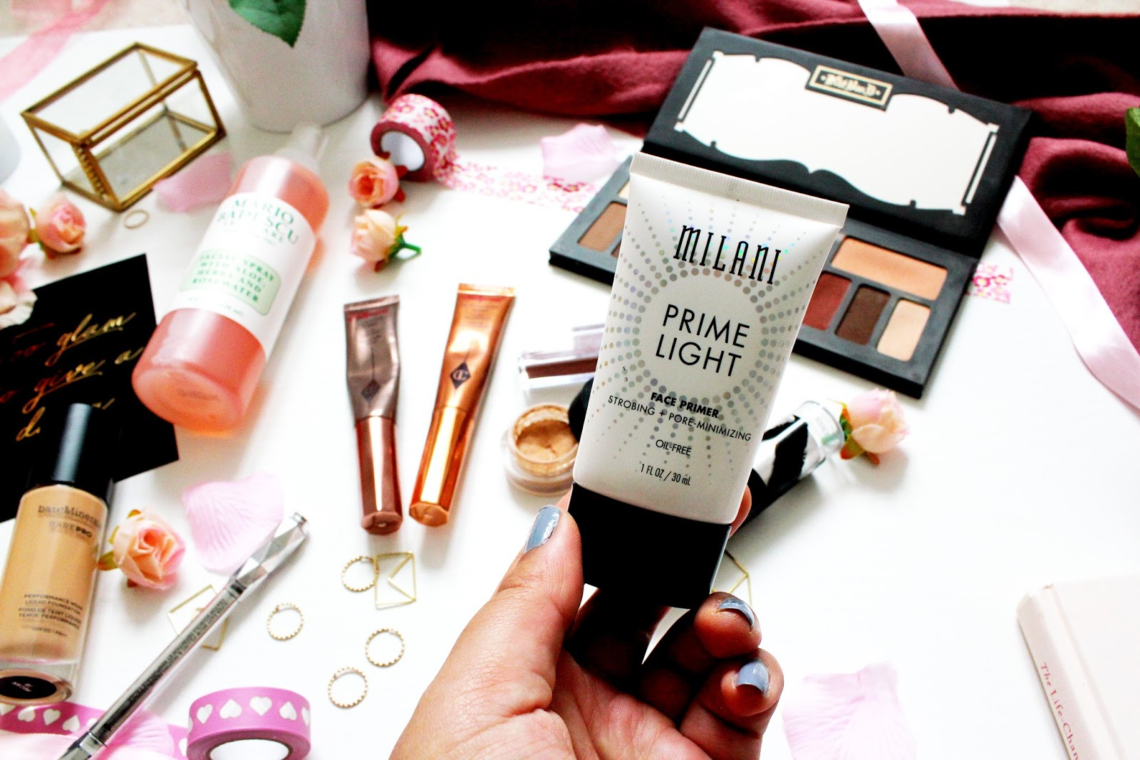 February Beauty Favourites Ft Kat Von D Jouer Glossier And Bare Milani Prime Light Strobing Pore Minimizing Face Primer Minimising 13 From Beautybay