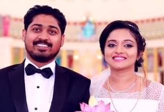 Best Christian Wedding Highlight In Kalady   Patrick & Aagi