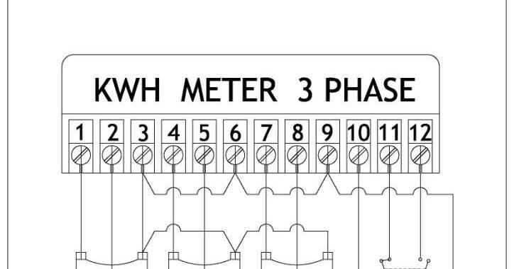 kwh meter wiring diagram wiring diagram electric meter wiring image