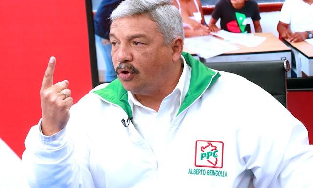 Alberto Beingolea, presidente del Partido Popular Cristiano (PPC)