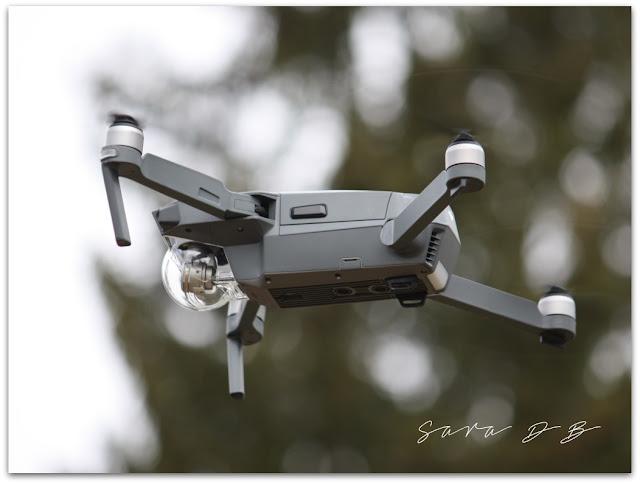 DJI Mavic Pro, nelikopteri