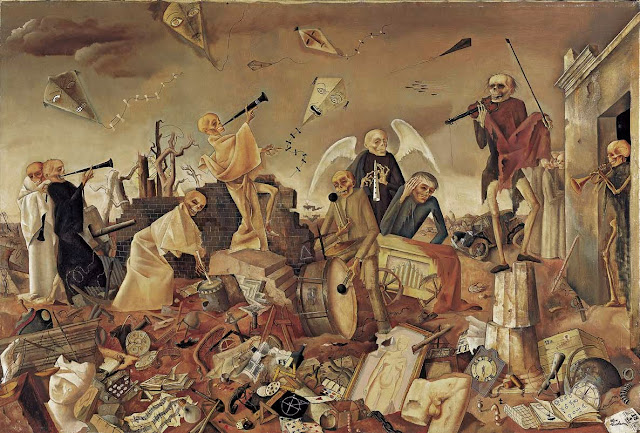 Triumph of Death by Felix Nussbaum (1944)