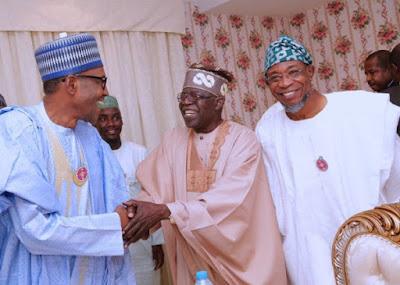 buhari7 - 9JA NEWS: #PMBAt75: Governors, Saraki, Dogara, Tinubu, Well-wishers surprise Buhari on his 75th Birthday