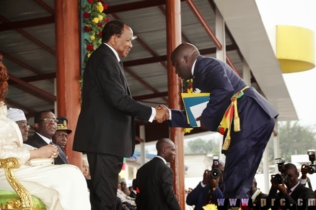 Image result for photos of Paul Biya in Buea