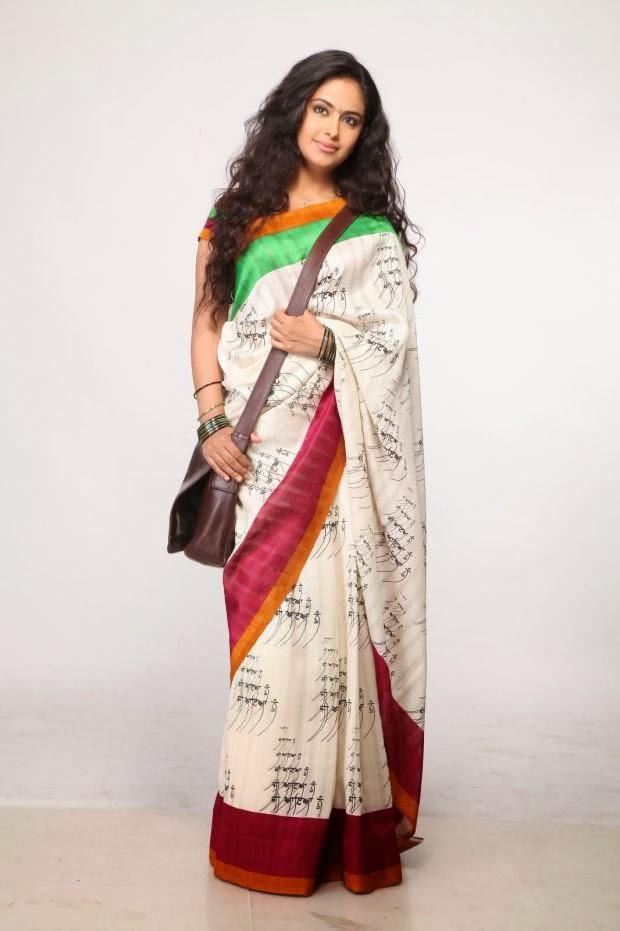 Avika Gor hot saree stills