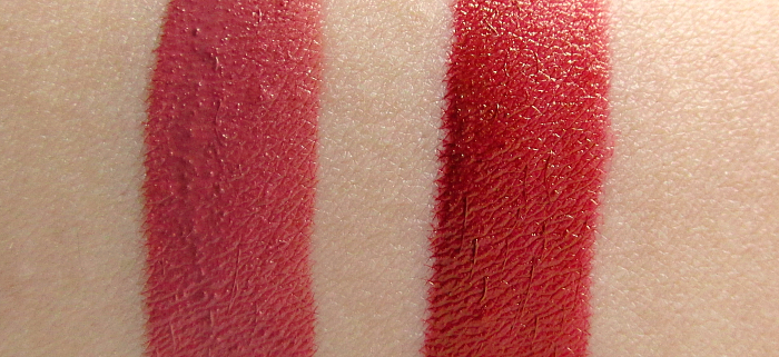 Review & Swatches: ALCINA Elegant Lip Fluid Lily & Tulip - 13.95 Euro UVP