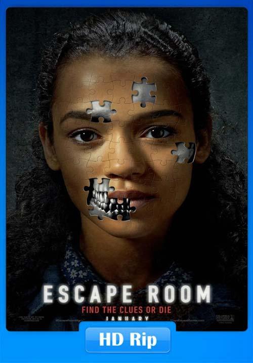 Escape Room 2019 720p WEB-DL Hindi English x264 | 480p 300MB | 100MB HEVC