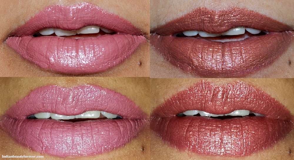Rimmel London Long Lasting lipsticks Review and Swatches
