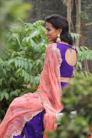 Actress Shraddha Srinath in Purple Chania Choli Cute Pics ~  Exclusive 04.jpg