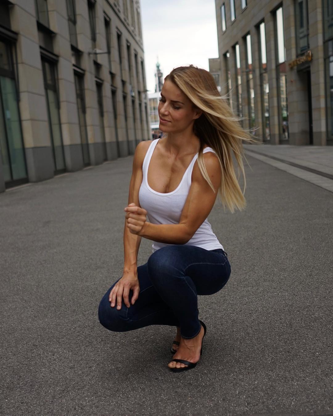 German Woman Of Incredible Beauty Has To Choose Between Being A Policewoman Or A Model
