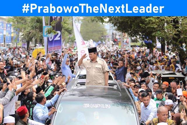 Tagar #PrabowoTheNextLeader Trending Dunia