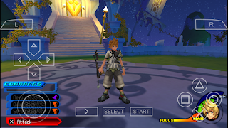 Kingdom Hearts Birth by Sleep PPSSPP ISO