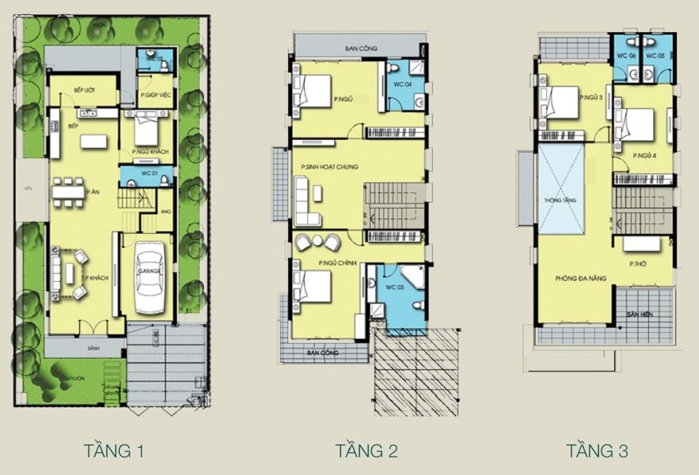 Thiết kế Biệt Thự Đơn Lập SV23 Gamuda Gardens