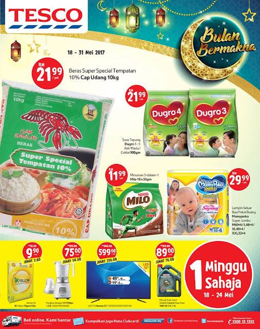 Tesco Malaysia Weekly Catalog
