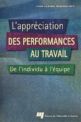 L' appréciation des performances au travail PDF