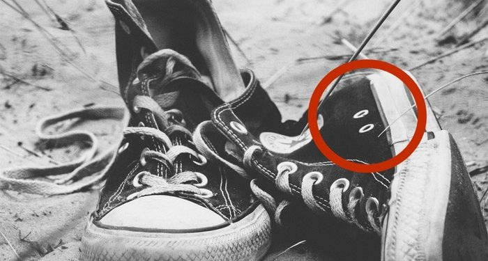 Extra Shoelace Holes Sneakers Actually Serve A Brilliant Purpose