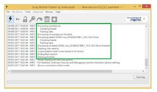 Cara Flash Sony Xperia ZR Docomo Upgrade Internal 32GB