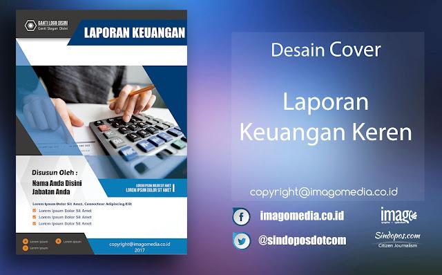 Download Template Desain Cover Laporan Keuangan Keren