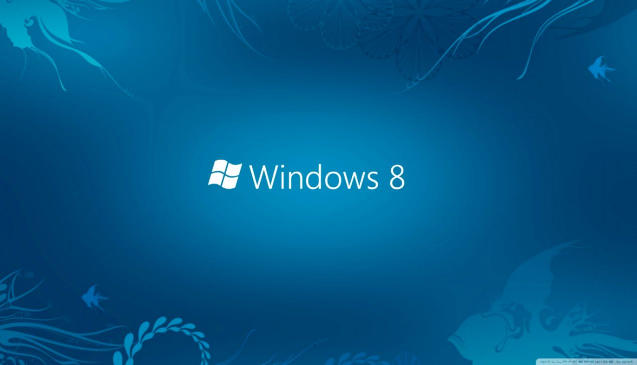 Windows 8 Blue Wallpaper Soft Wallpapers
