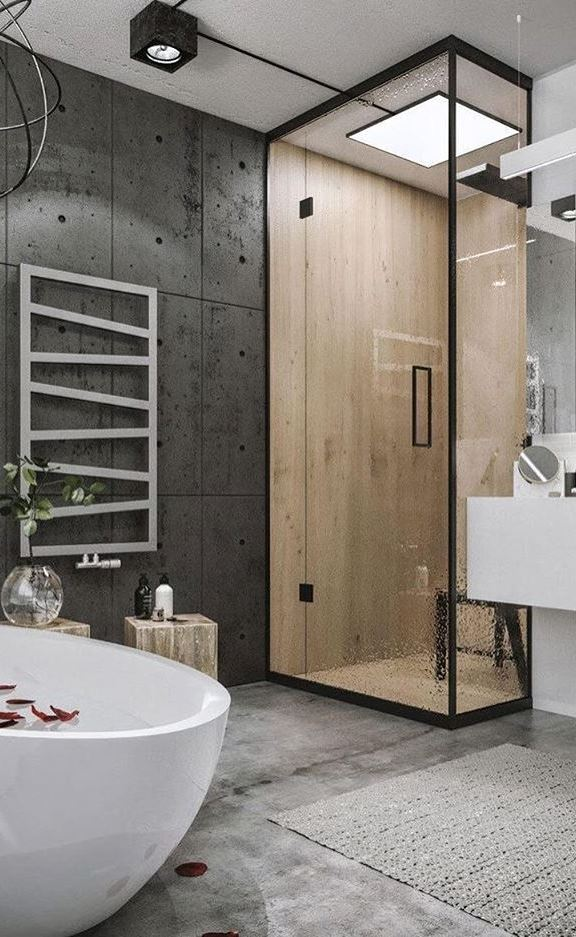 bathroom loft decoration