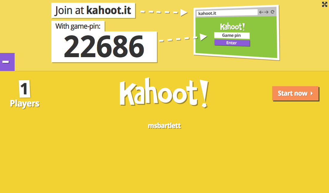 Kahoot It Join at Kahootit With Game PIN 5393871 Kahoot ...