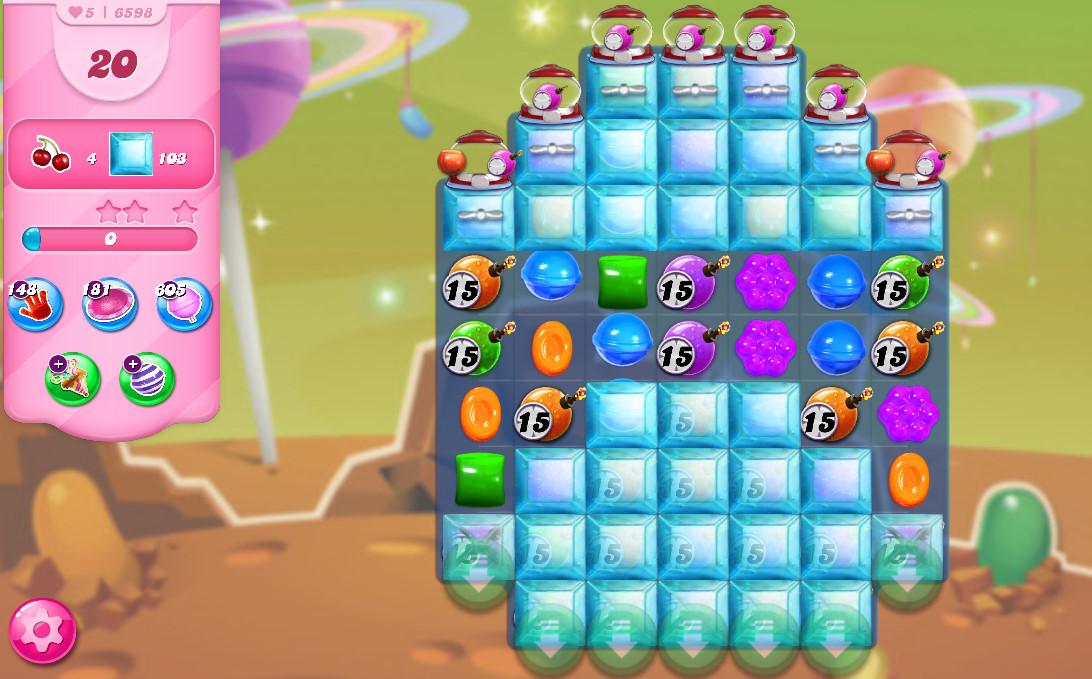 Candy Crush Saga level 6598