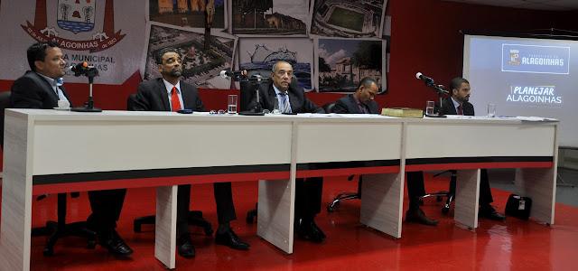 Audiência Pública discute o Plano Pluri Anual (PPA) na Câmara Municipal de Alagoinhas