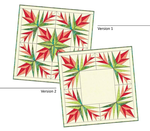 christmas cactus table topper patterns one and two