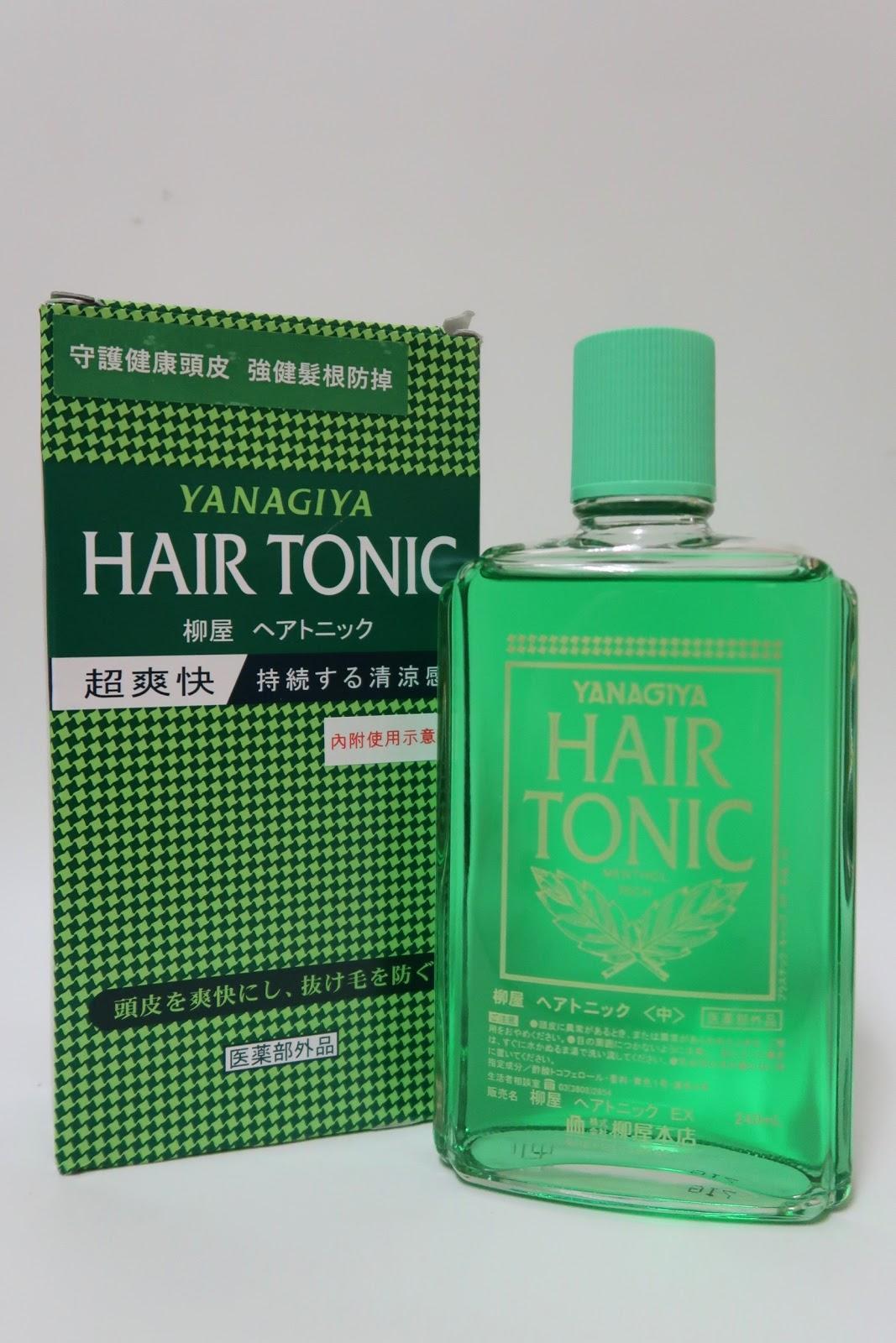 頭皮護膚品-柳屋髮根營養液 Yanagiya Hair Tonic | jobeauty – U Blog 博客