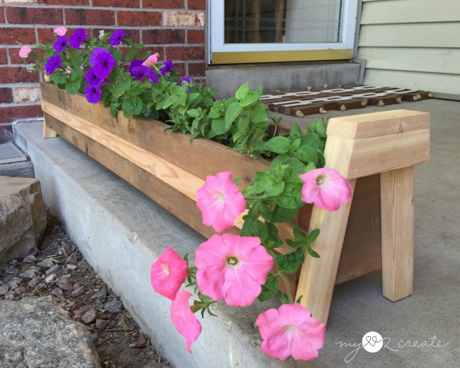 long diy planter