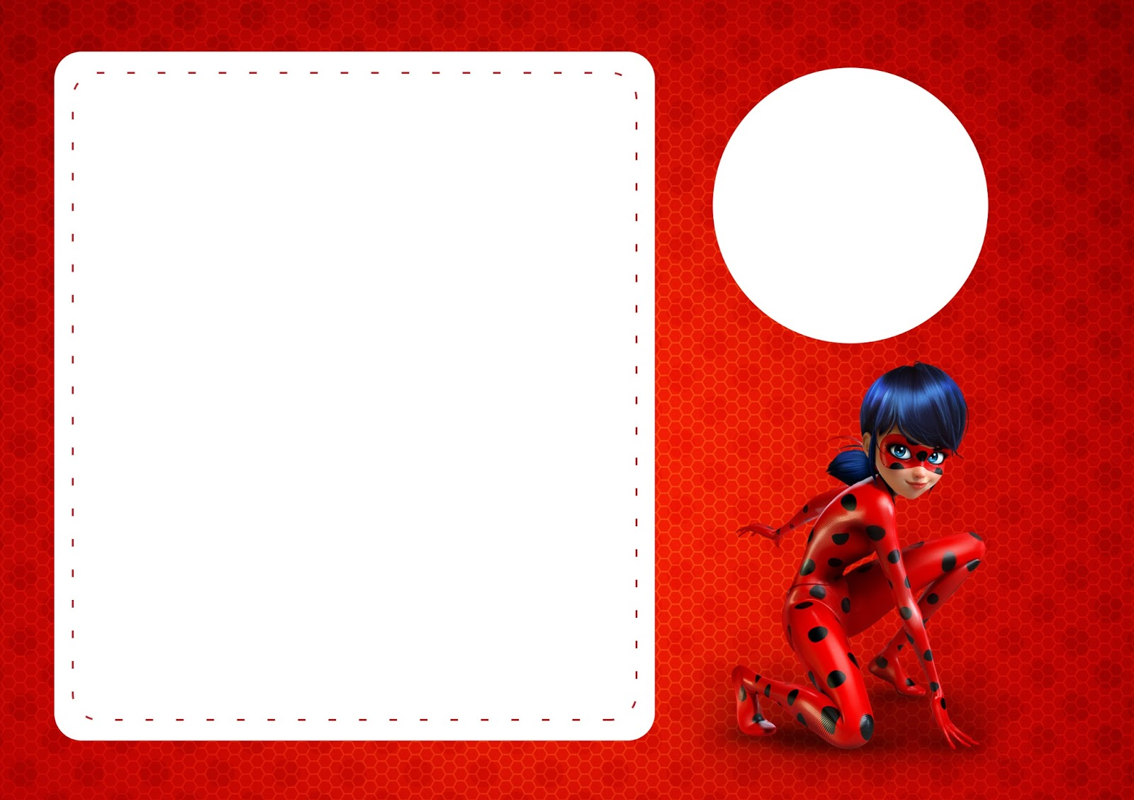 The set includes party essentials like invitations, thank you cards,. Miraculous Ladybug Free Printable Invitations Oh My Fiesta In English