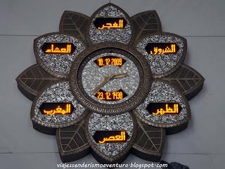Detalle del interior de la Mezquita Sheikh Zayed o Gran Mezquita de Abu Dhabi