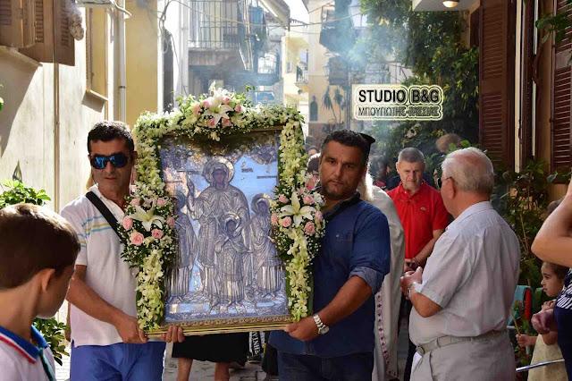 Το Ναύπλιο γιόρτασε την Αγία Σοφία στον πιο ιστορικό Ναό της πόλης (βίντεο)