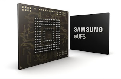Samsung begins mass production of 256GB Embedded Universal Flash Storage