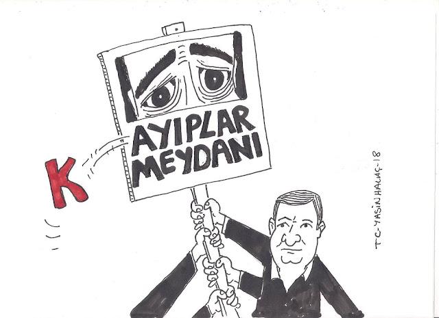 kayıplardan gelen ses karikatürü