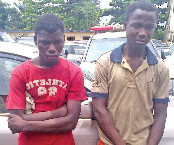 teenage armed robbers ajangbadi lagos