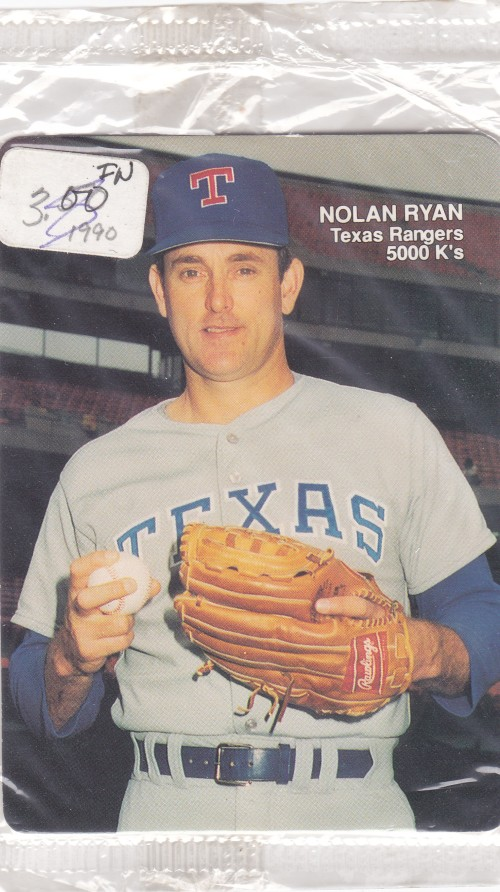 Cards On Cards Up For Grabs Nolan Ryan Mothers Cookies