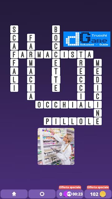 Soluzioni One Clue Crossword livello 16 schemi 12 (Cruciverba illustrato)  | Parole e foto