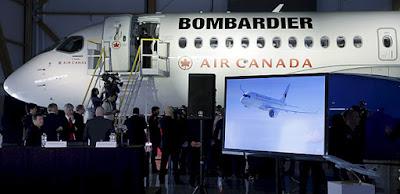 EUA impõem tarifas a aviões da Bombardier após queixa da Boeing