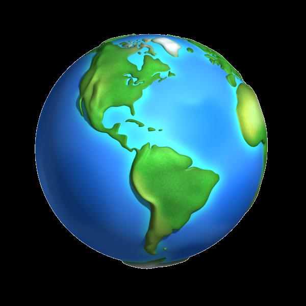 Cartoon World planet Earth