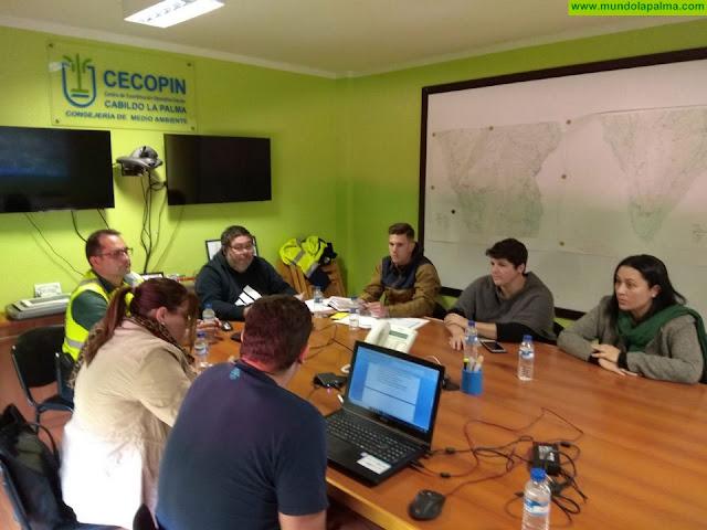 El Cabildo comienza la ronda de reuniones para coordinar el dispositivo de seguridad de Transvulcania